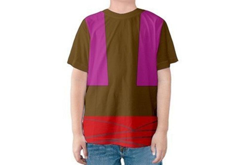 Disney Marathon Abu Shirt Abu Aladdin Kids Abu T-Shirt Disney Prince Disney Birthday Costume