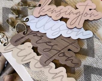 Bag Tag + Key Chain