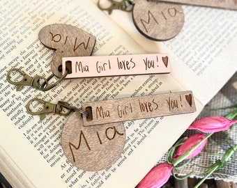 Actual Handwriting - Personalized Key Chain