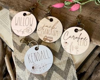 Custom Name Bag Tags