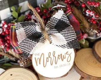 OrnamentOrnament • Gift Tag • Stocking Tag