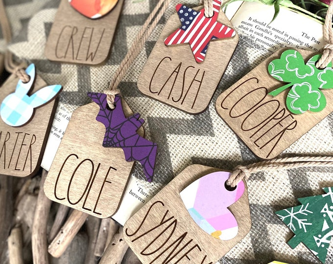 Featured listing image: Personalized Gift Tags
