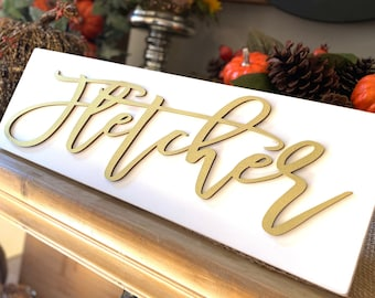 Personalized Name Sign