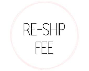 Returned Item:  RESHIP FEE