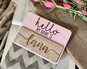 Personalized Baby Name Announcement