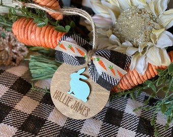 Personalized Easter Tag