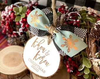 Ornament • Gift Tag • Stocking Tag