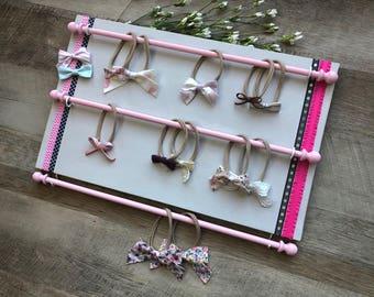 Ready To Ship, Baby Shower Gift, Headband Holder, Gift for Her, Birthday Gift, Baby Girl Nursery, Baby Girl Gift, Nursery Decor