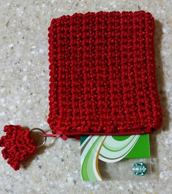 Rote Münze Geldbeutel Rote Handtasche Tasche Reißverschluss Etsy