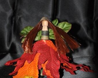 Fall Flames Nature Fairy
