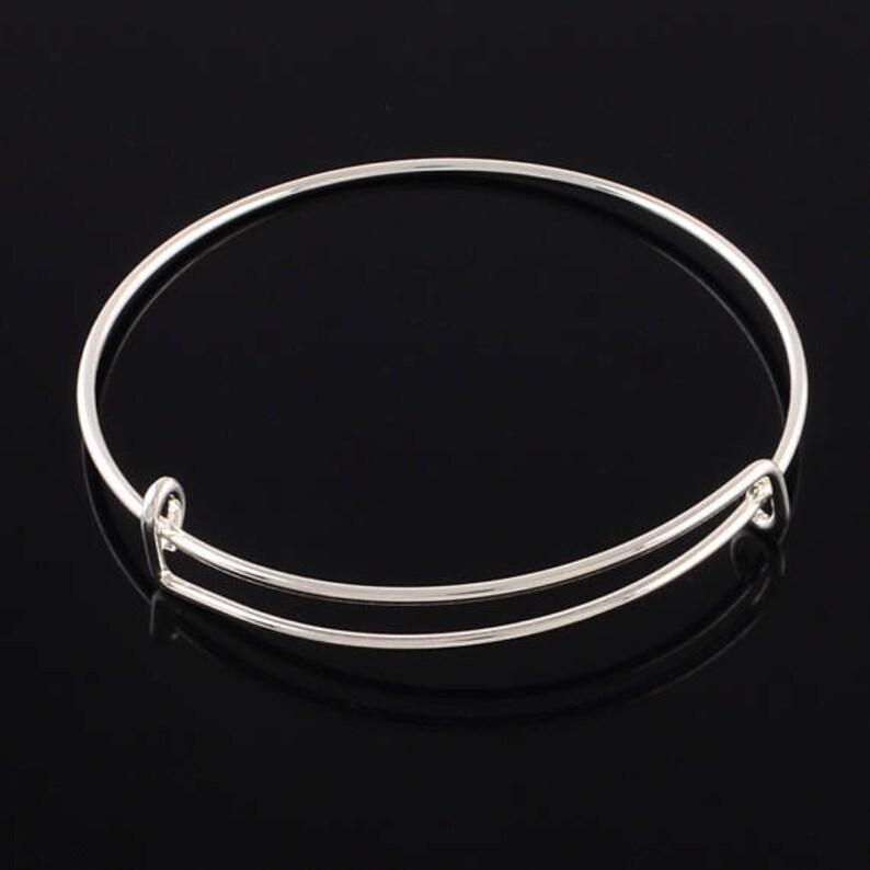 Extendable Bangle Large Bracelet Large Wrist Large Bangle Adjustable Bracelet, Silver Bangle Expandable Bracelet Adjustable Bangle