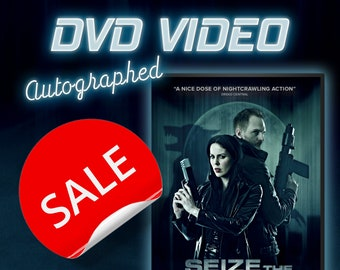 SALE - Last Few! Seize the Night, Official DVD (autographed)