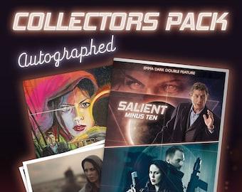 COLLECTORS PACK - Salient Minus Ten & Seize the Night, Official DVD (autographed)