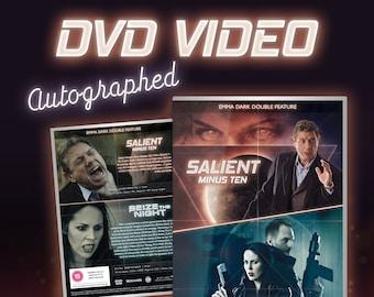 TWO DISCS - Salient Minus Ten & Seize the Night, Official DVD (autographed)