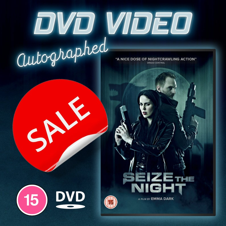 SALE  Last Few Seize the Night Official DVD autographed image 0