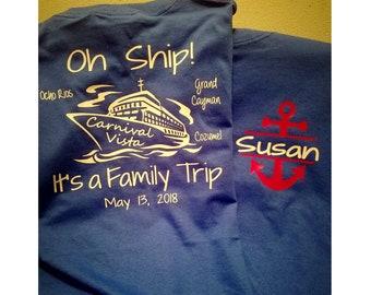 Carnival cruise shirts | Etsy