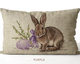 Easter Lumbar Pillow Etsy