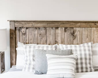 bafaa0a724 The Simple Farmhouse Wooden Headboard **LOCAL CUSTOMERS ONLY**