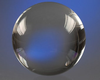 100 mm crystal ball,clear, fortune teller ball glass ball,weight approx. 1.25 kg