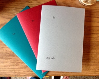 thin Poetry Book