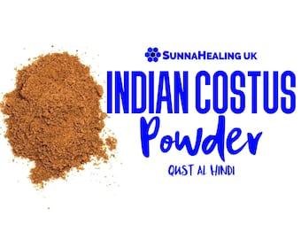 Indian Costus Powder (Qust al Hindi) SunnaHealing UK - Islamic Sunnah Product - Ruqyah - 50g, 100g, 250g and 500g