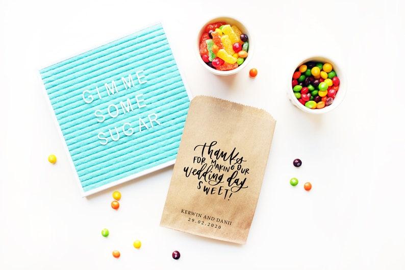 Dessert Bar Wedding Favor Bags Candy Buffet Candy Bags Cookie Favor Bags Candy Bags Dessert Buffet Popcorn Bag Cookie Bag