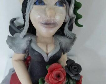 "Custom Fairy ""Shelfie"" figure"