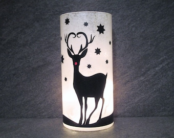Rudolph Decor, Reindeer Light, Christmas Light