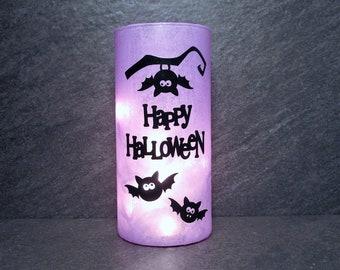 Bat Happy Halloween Light, Halloween Decor
