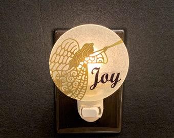 Angel Night Light, Joy Night Light, Christmas Night Light