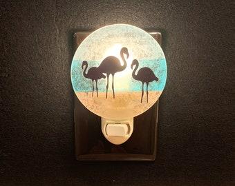 Flamingo Night Light, Beach Night Light