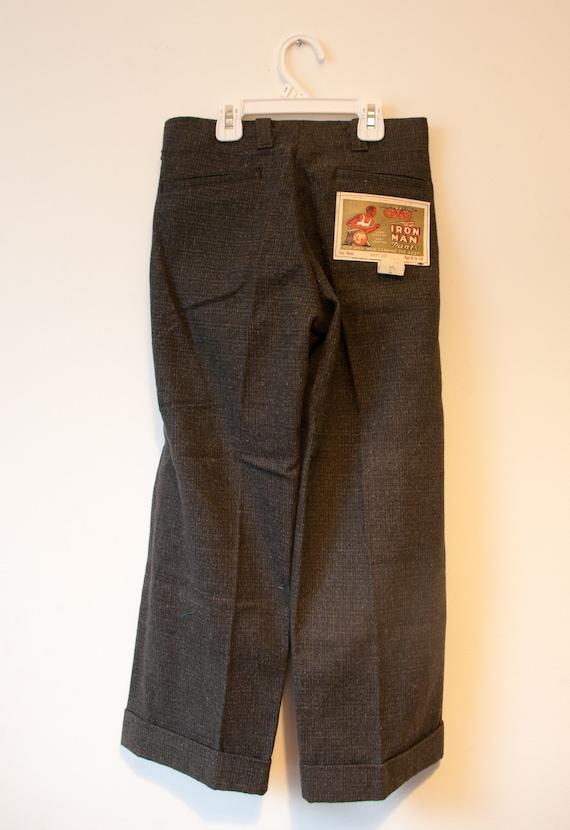 1940's Wool GWG Boys Pants / DeadStock Preshrunk … - image 3