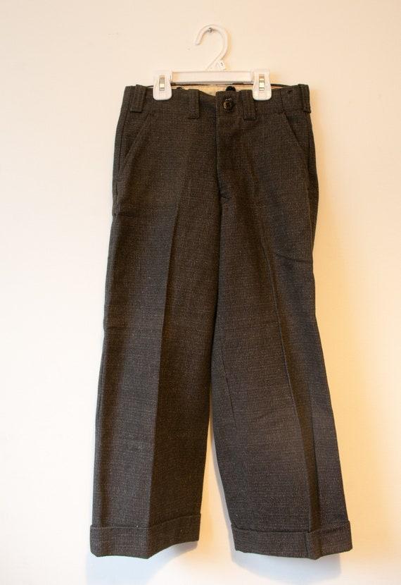 1940's Wool GWG Boys Pants / DeadStock Preshrunk … - image 2
