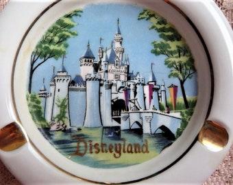 Disneyland -- Anaheim California Walt Disney Productions Souvenir Ashtray