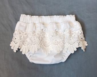 Chloe Bloomers - nappy cover, diaper cover, boho flower girl