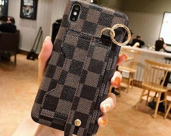 635c9e2ec7a Custom Repurposed iPhone XS max phone card case Inspired by Ebene print  Cute iPhone xr iPhone 7 Case iPhone 6s Plus iPhone 8/8 Plus SJ31