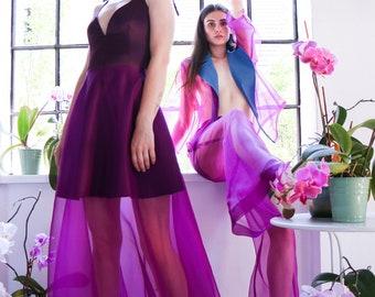 2105303bf3 Silk organza skirt | Etsy