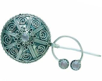 Thebin Silver Pendant