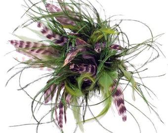 Asterie Hair Pin Moss Green