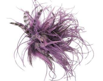 Asterie Hair Pin Mauve