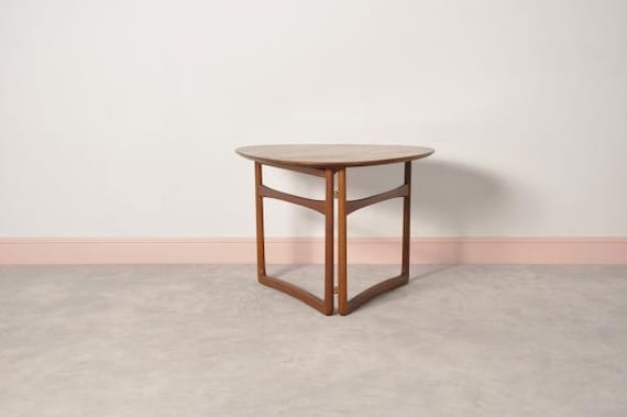58a674ff4e5ee Folding Table by Peter Hvidt and Orla Mølgaard-Nielsen for