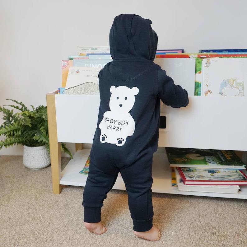 3083bd150 Baby Bear Onesie Baby Bear All In One Bear Ears Onesie