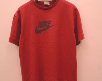 22dfa7fbae698 Vintage Nike Big Logo Sport Shirt Streetwear Punk Rock Tops   Etsy
