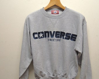98f429ecd32c8 Vintage Converse All Star Chuck Taylor Sweatshirt Sport Street   Etsy