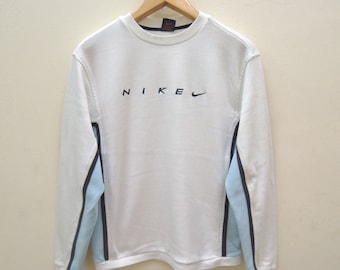 62373f97 Vintage Nike Minimalist Logo Sweatshirt Swag Hip Hop Streetwear Sport Size L
