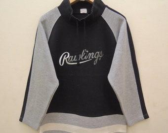 a3523514444fe8 Vintage Rawlings Long Sleeve Sweatshirt Sport Street Wear Regatta Sweater