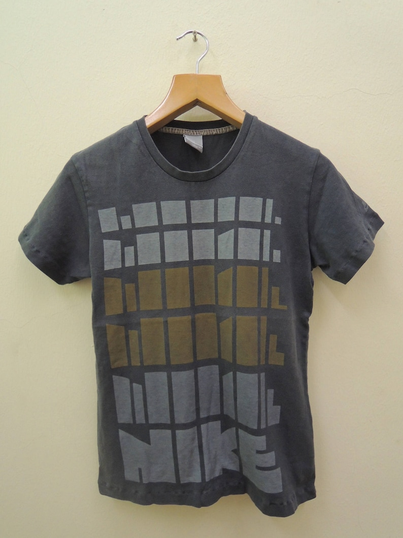 a028a15789fe5 Vintage Nike Big Logo Swag Streetwear Sport Punk Rock Tops & Tee T Shirt  Size M