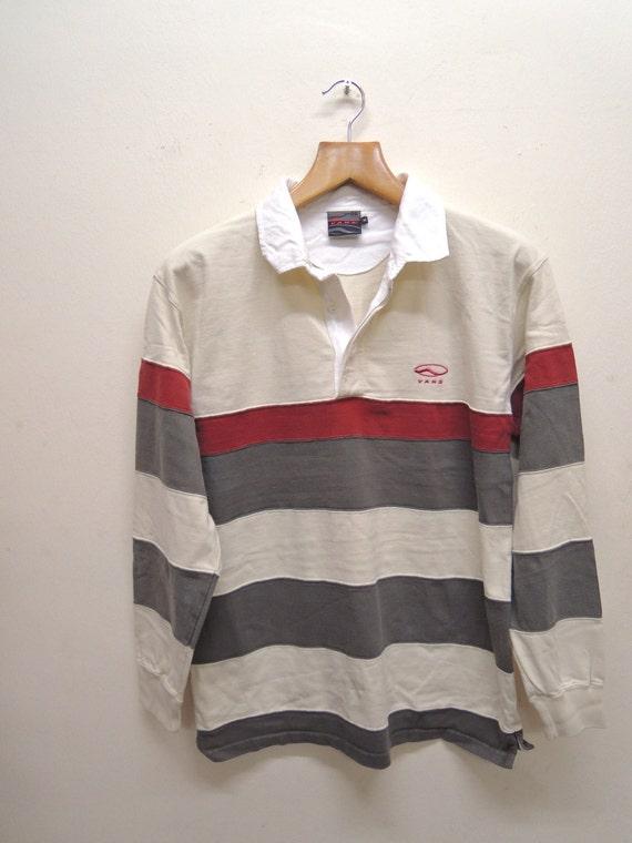 Vintage 90/'s Crocodile Long Sleeve Polos Shirt Tennis Vintage Fashion Size M