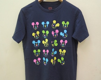 Vintage Mickey Mouse By Disney T Shirt Cartoon Street Wear Swag Top Tee Size M