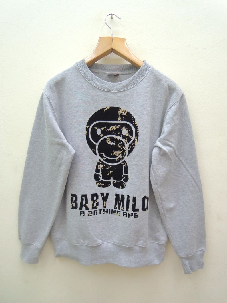 a32bb063d Vintage Baby Milo A Bathing Ape Sweatshirt Street Wear Swag | Etsy